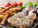Рецепта Мариновани свински пържоли на скара